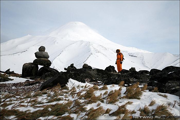 Камчатка Авачинский вулкан