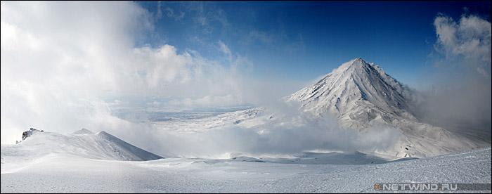 Камчатка Корякский вулкан