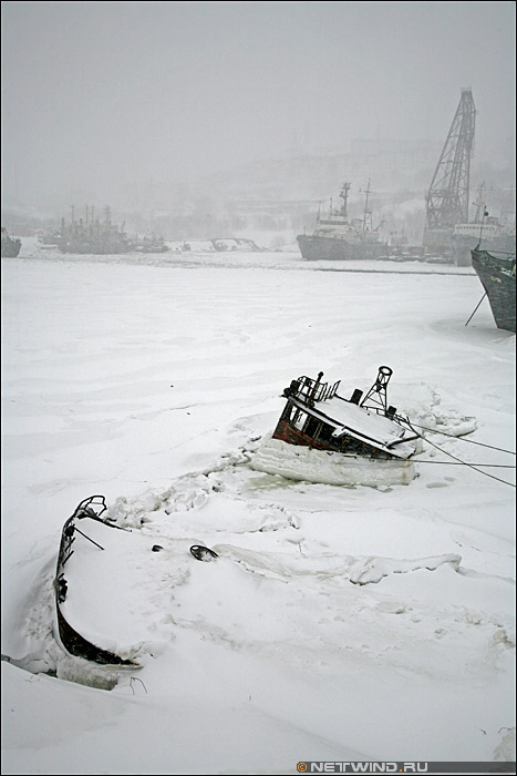 Камчатка - затонувший корабль
