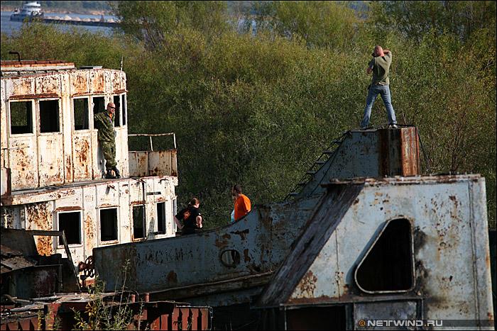 старый корабль