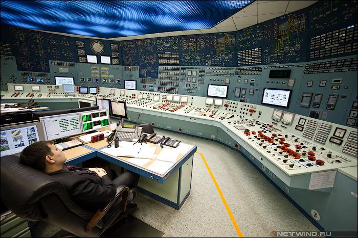 БЩУ - блочный щит управления энергоблока