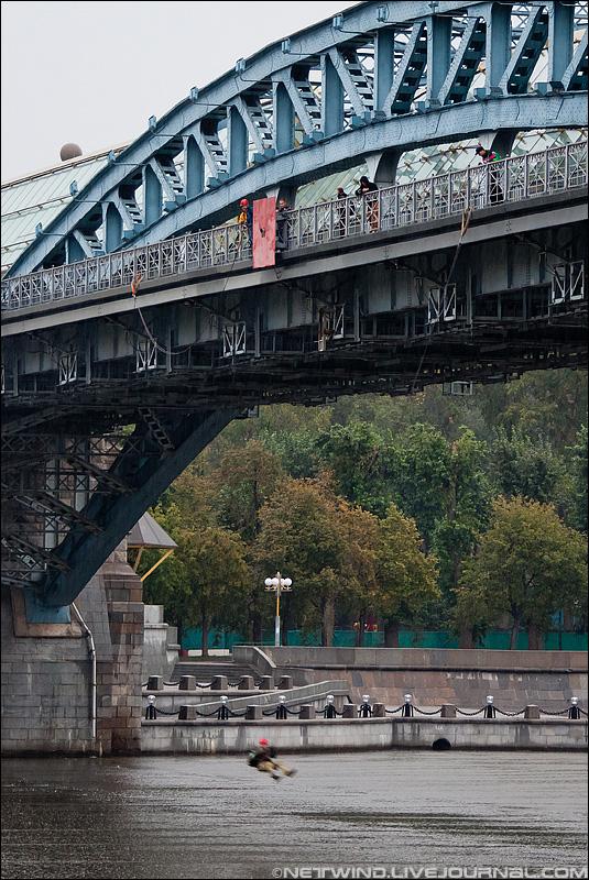 роупджампинг Пушкинский (Андреевский) мост