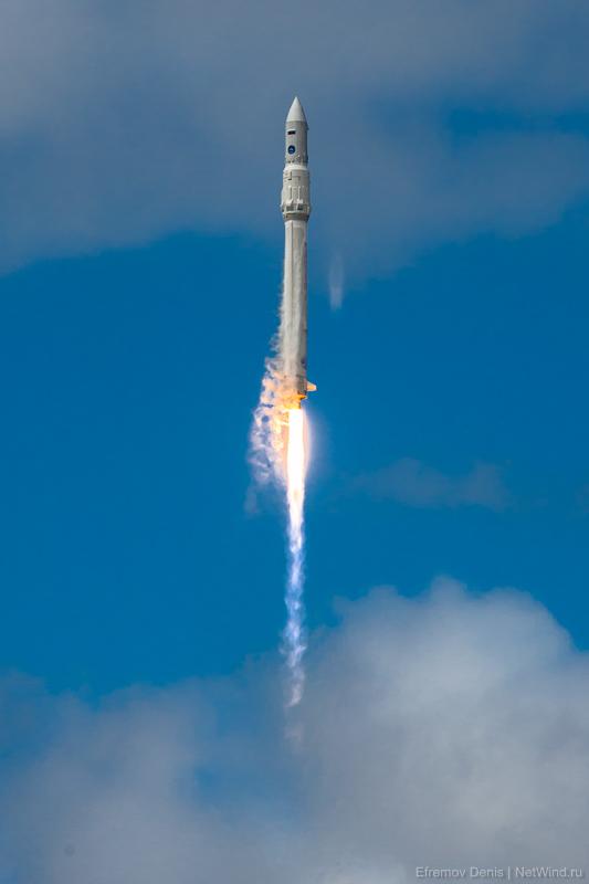 Плесецк Ангара 1.2ПП запуск